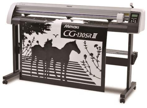 Mesin Mimaki mesin cutting sticker jual harga murah alat