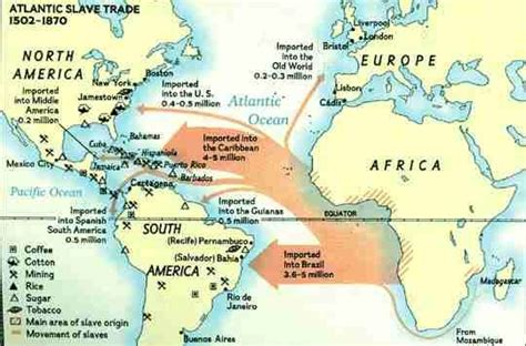 south america map passage middle passage maps 1400s mapping the middle passage