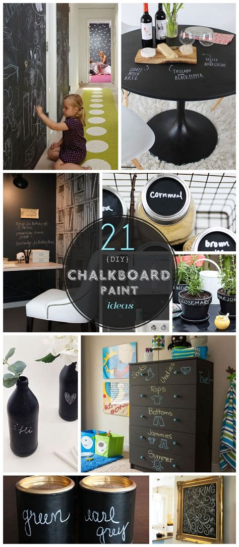 21 funky diy chalkboard paint ideas for the home craft 21 diy chalkboard paint ideas that are brilliantly creative