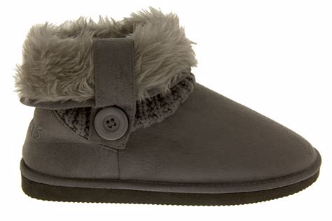 fur slipper boots coolers warm faux fur slippers boots comfy winter