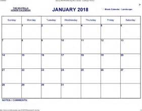 January 1 2018 Calendar January 2018 Calendar 2 For Free Tidyform