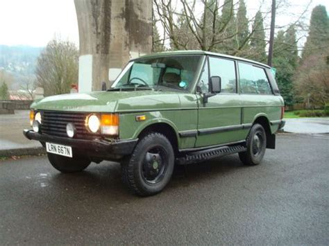 range rover engine turbo sell used 1973 range rover 2 door great truck