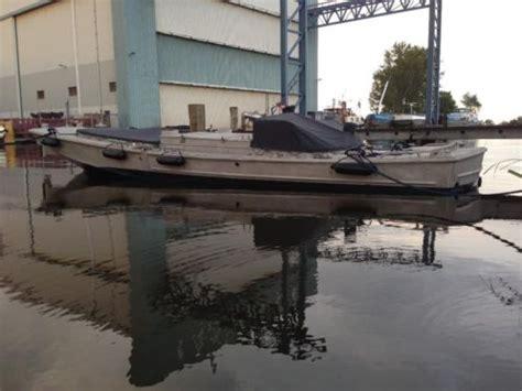 legerboten te koop bridge erection boat legerboot duwboot sleper aluminium