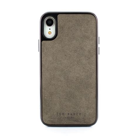 premium xr phone case  ted baker connected range jakie grey proporta