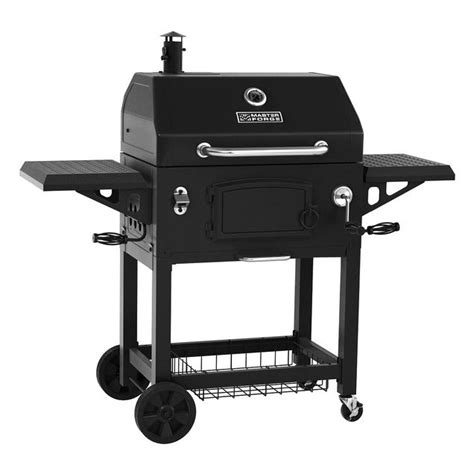 Backyard Grill Vs Master Forge Master Forge Mfj486enc 33 In Charcoal Grill Lowe S Canada