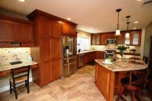 Kitchen Color Ideas With Cherry Cabinets Kitchen Walnut Kitchen Cabinets 109 Kitchen Color Ideas With Cherry Cabinets