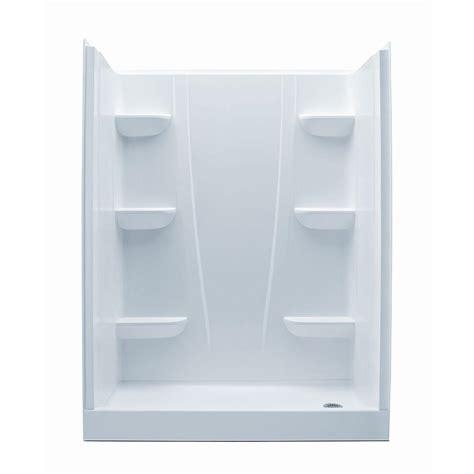 4 piece bathroom definition aquatic a2 30 in x 60 in x 76 in 4 piece shower stall