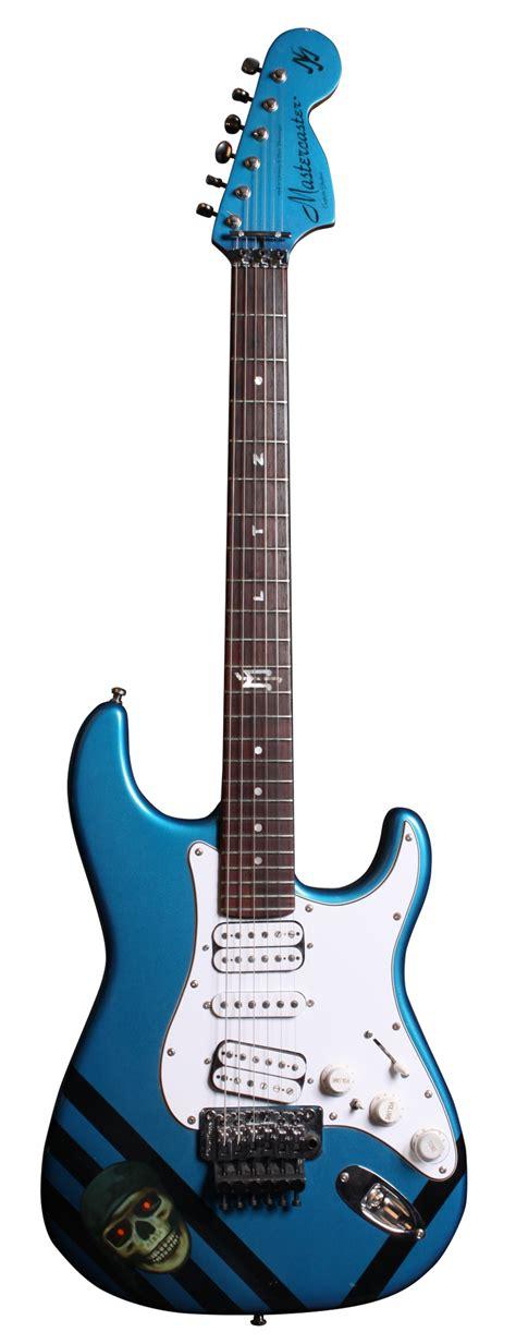 Mj Zebra by Mj Mastercaster White Zebra E Gitarren E Gitarre Mj