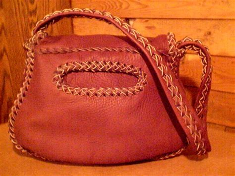 handmade purses constructed with the braiding of high
