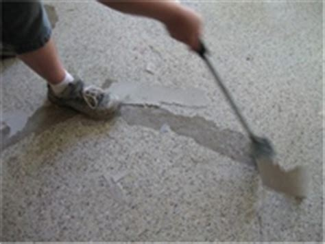 how to remove epoxy floor coatings