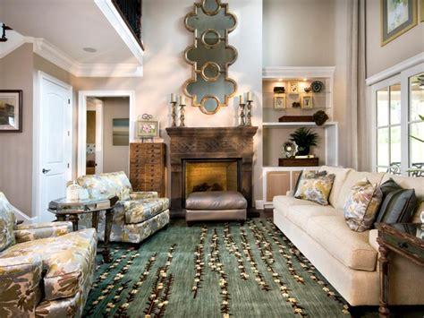 classy living room cozy yet elegant living room sandy kozar hgtv