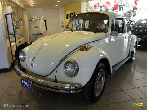 volkswagen white beetle 1973 white volkswagen beetle coupe 25675967 photo