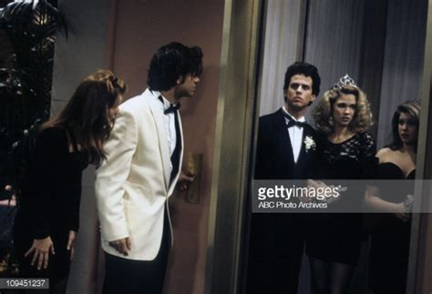 full house prom night may 4 1993 lori loughlin john stamos scott weinger cristi pictures getty images