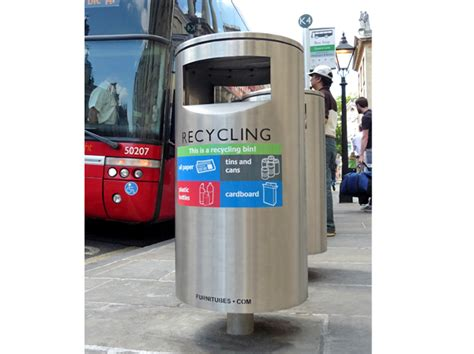zenith recycling litter bins furniture for streets
