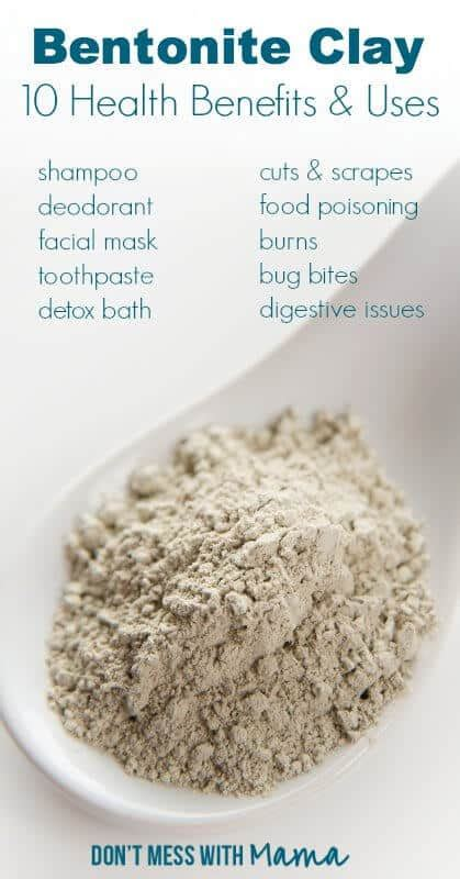 How Do You Use Bentonite Clay For Detox by 10 Healthy Uses For Bentonite Clay Don T Mess With
