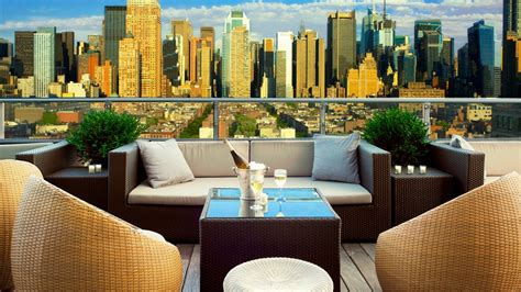 Top 10: best rooftop bars in New York City ? the Luxury