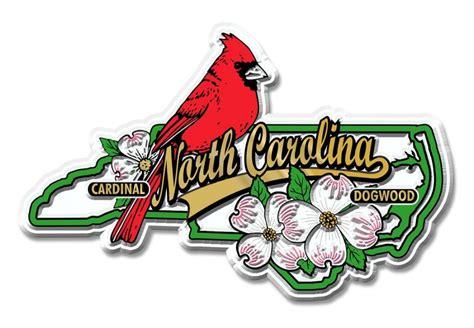 state bird of north carolina north carolina state bird and flower magnet