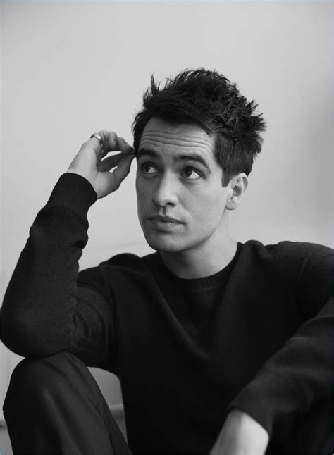 brendon urie brendon urie links up with interview talks kinky boots