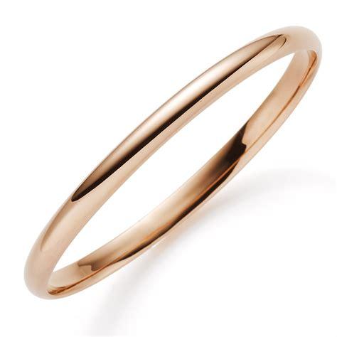 Leder Glatt Polieren by Armreif 5 5mm 585 Echt Gold Rotgold Glatt Gl 228 Nzend Armband