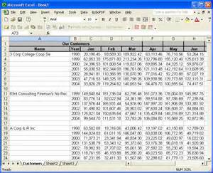 Sample Excel Spreadsheet Windows Forms Excel Spreadsheet Sample Form