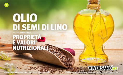 olio di semi di lino propriet 224 ed uso alimentare