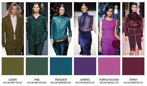 The Color Of Fashion in color fall winter 2013 14 fashion trends blue bergitt