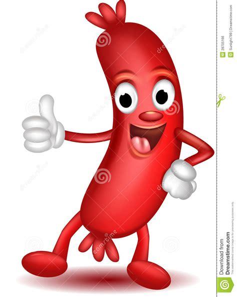 Mr Sosis sausage thumbs up royalty free stock image image 28705166