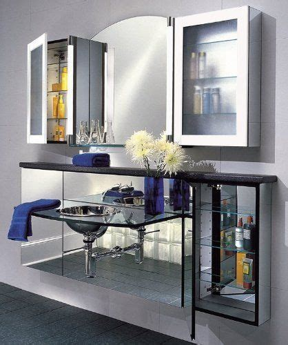 blue bathroom mirror robern ft20d4ccli cobalt blue ft 19 1 4 quot left handed medicine cabinet with clear glass