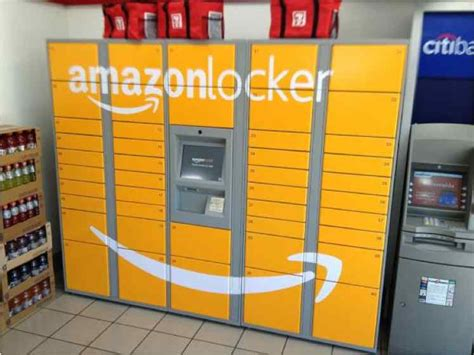 amazon locker here s a picture of amazon locker the new delivery box