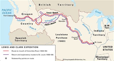 lewis and clark expedition lewis and clark expedition history facts map