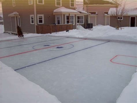 hockey rink in backyard 78 best images about it s all fun and games on pinterest