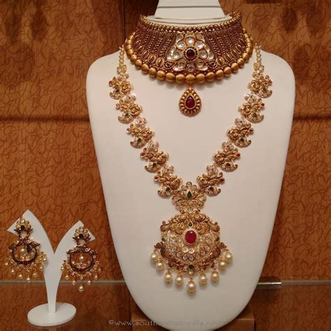 Gold Antique Bridal Jewellery Sets from NAJ   Bridal