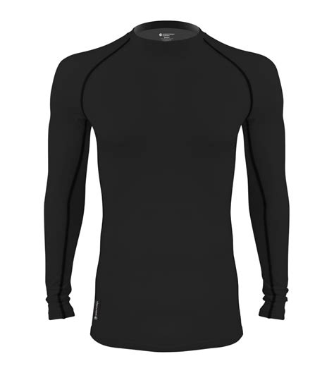 design a compression shirt atd long sleeve fleece compression shirt toasty warm