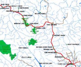 peace river canada map peace area of columbia