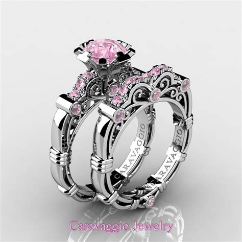 light pink sapphire engagement rings pink sapphire engagement rings www pixshark com images