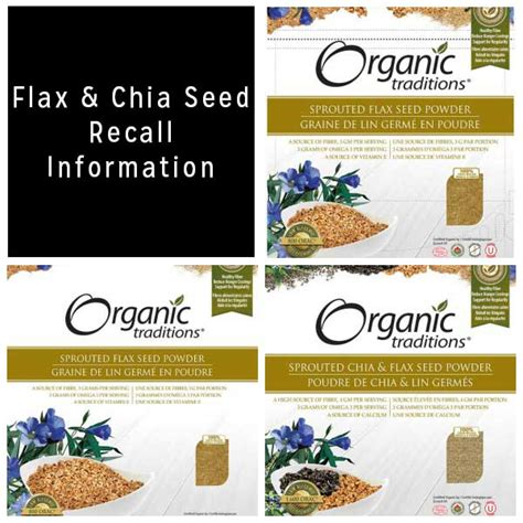 Market Pantry Recall by Flax And Chia Seed Recall Updated Eat Drink Better
