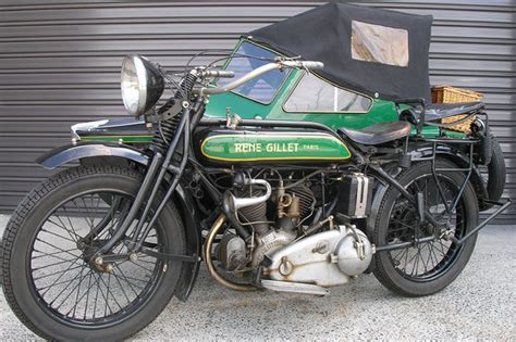 Sold: Rene Gillet G Motorcycle with Sidecar Auctions   Lot