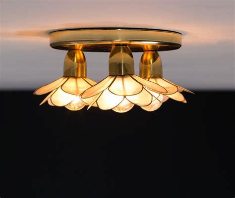 flower lotus ceiling l mother of pearl boulanger