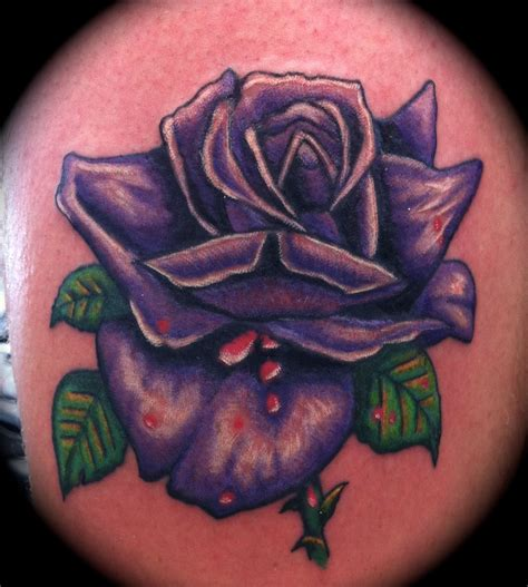 purple roses tattoo purple by samira helmy ldf marrickville