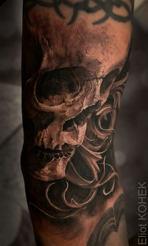 baroque tattoo baroque skull tattoos tattos and