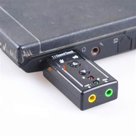 Usb Sound Sound Usb 2 0 mini usb 2 0 7 1 channel audio sound card sound adapter