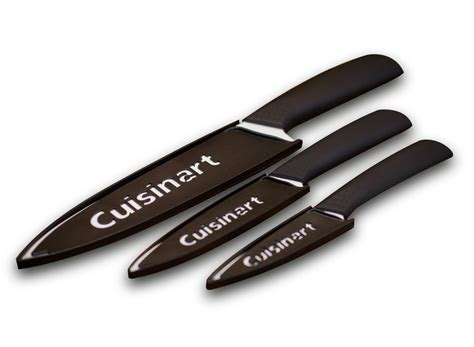 cuisinart kitchen knives cuisinart elements 6pc ceramic set home kitchen