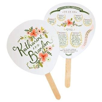 personalized fans for weddings personalized fans for an outdoor wedding outdoor wedding