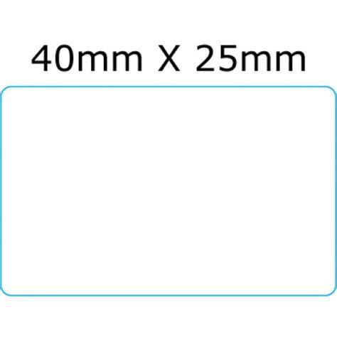 Label Barcode Ukuran 52 X 25mm 40mm x 25mm thermal barcode label
