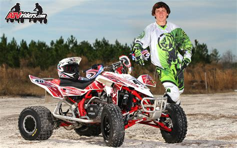 motocross atv ama atv motocross pro am atv racer gibson walsh