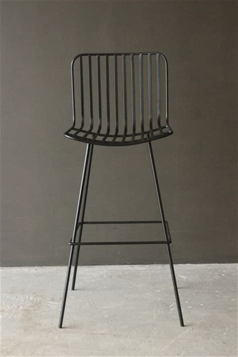 Nero Bar Stool by Nero Black Metal Bar Stool