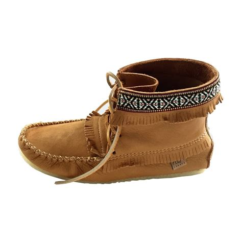 mens moccasin boots s cork brown ankle moccasin boots handmade from real