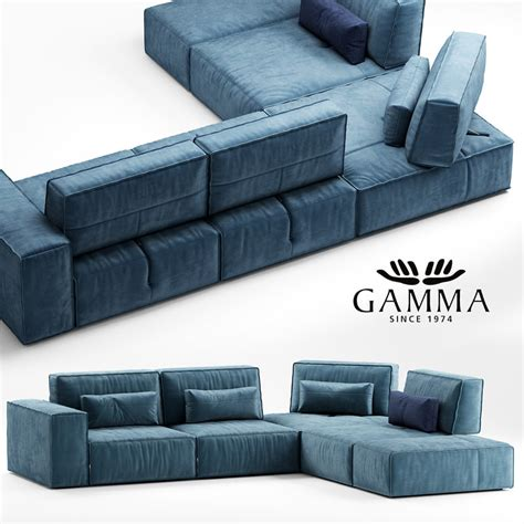 Gamma Sofa by 3d Other Gamma Soho Sofa