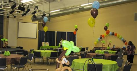 party people event decorating company baby shower ocala fl party people event decorating company monkey animal