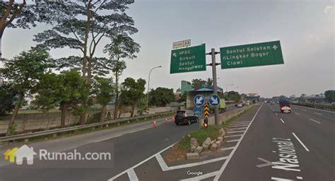 rute pintu tol jagorawi ummi residence bogor rumah com